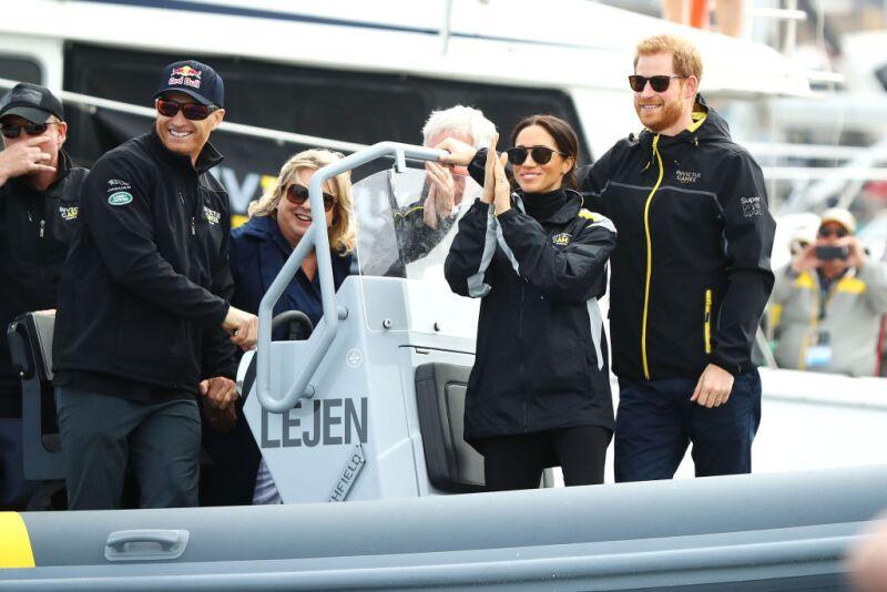 Meghan Markle encanta con sporty look en Sídney