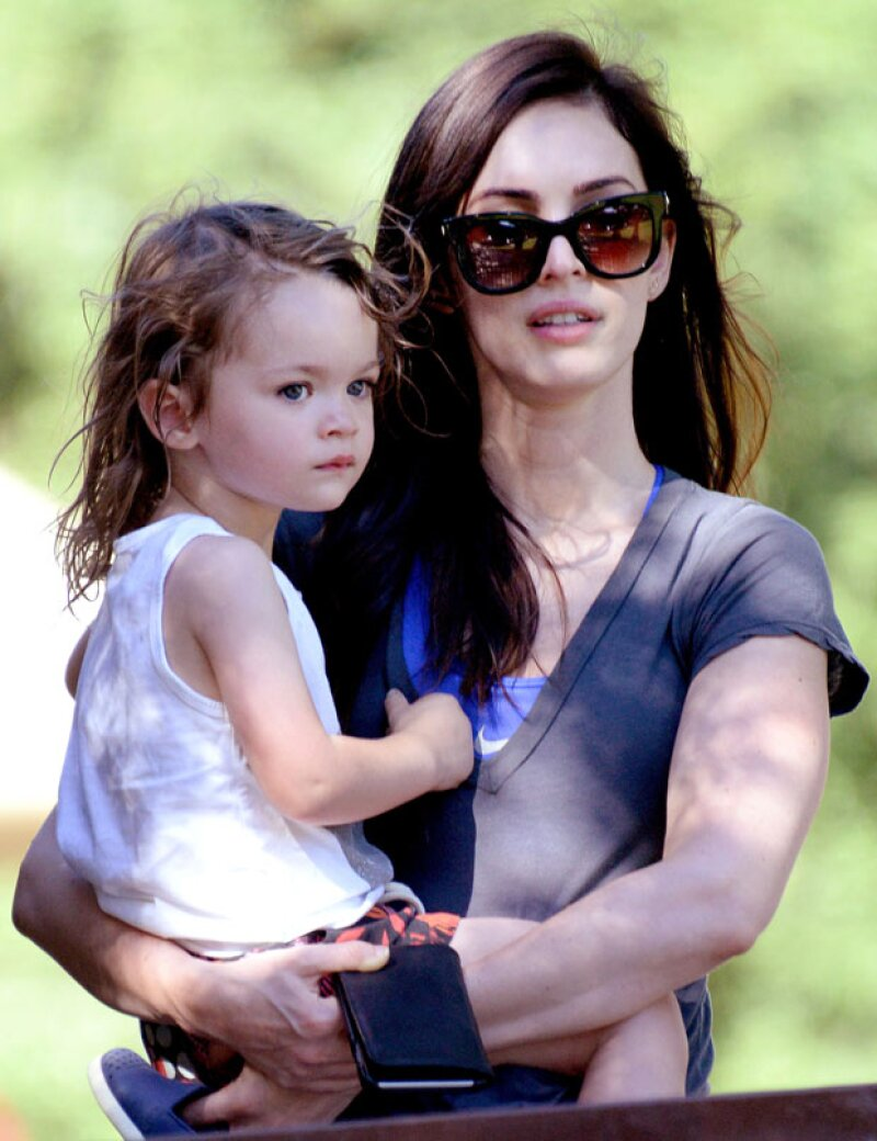 El increíble parecido del primogénito de Megan, Noah, a ella cada vez es más evidente.