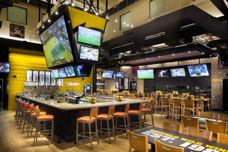 Sport bar.