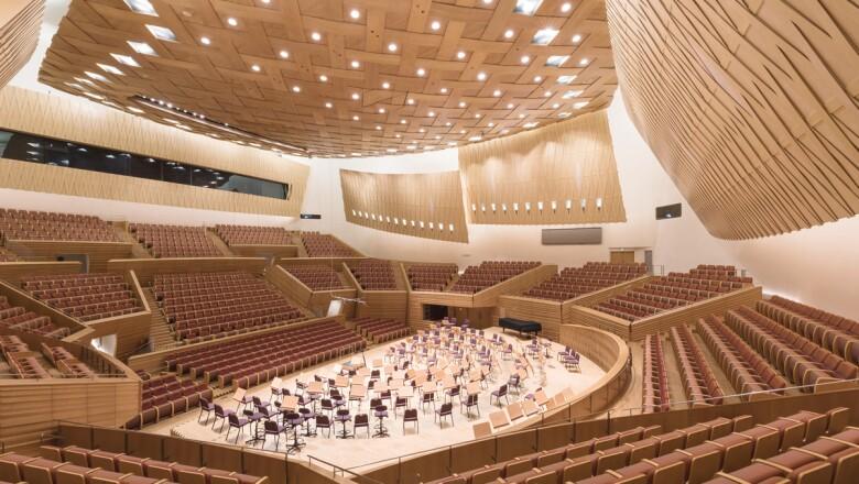 Shanghai Symphony Hall, Shanghai, China (2014)