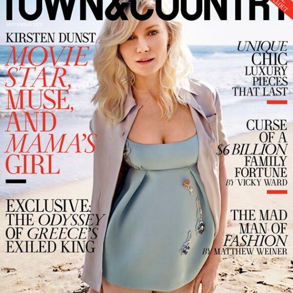 Kristen Dunst en Town and Country.