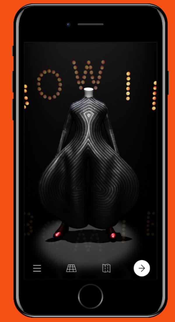 La app 'David Bowie Is' está disponible para los equipos Android y iOS. // Foto: www.davidbowieisreal.com