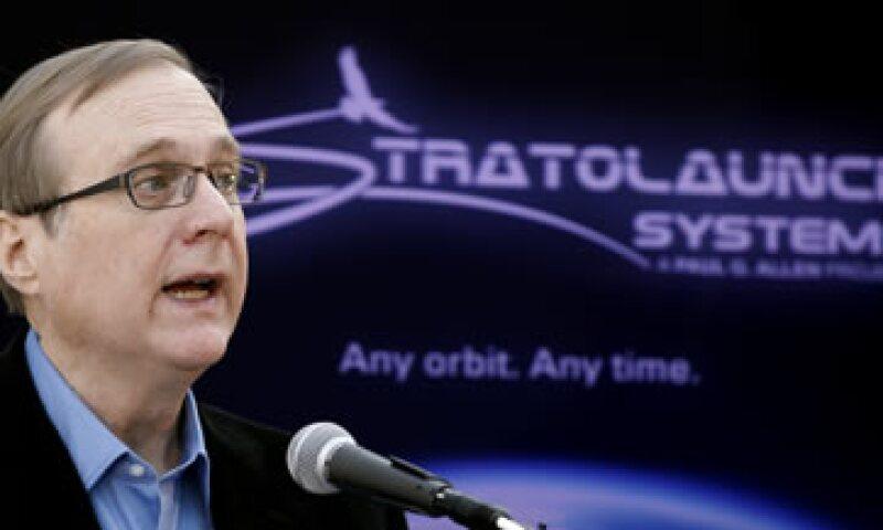 Paul Allen es otro de los multimillonarios con intereses en la privatización de los viajes espaciales. (Foto: AP)