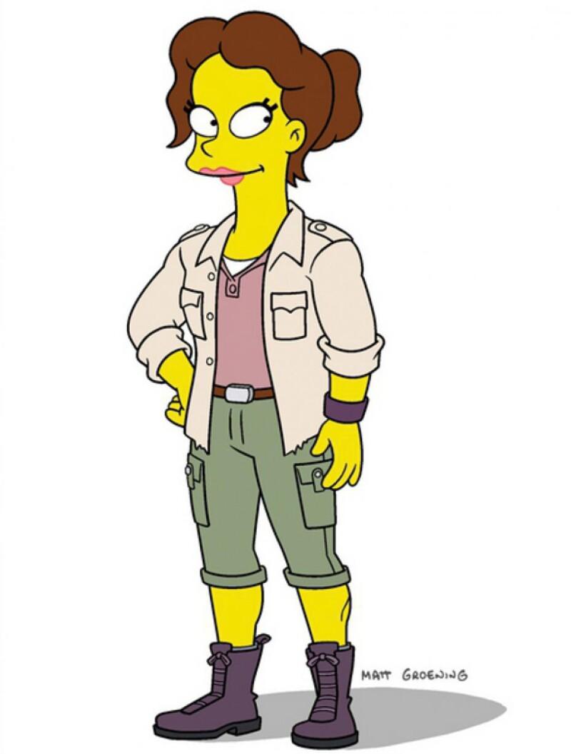 La actriz colombiana se sumará a los artistas que han formado parte de esta serie con su nuevo papel como maestra de Bart, Miss. Berrera, en su escuela primaria Springfield.