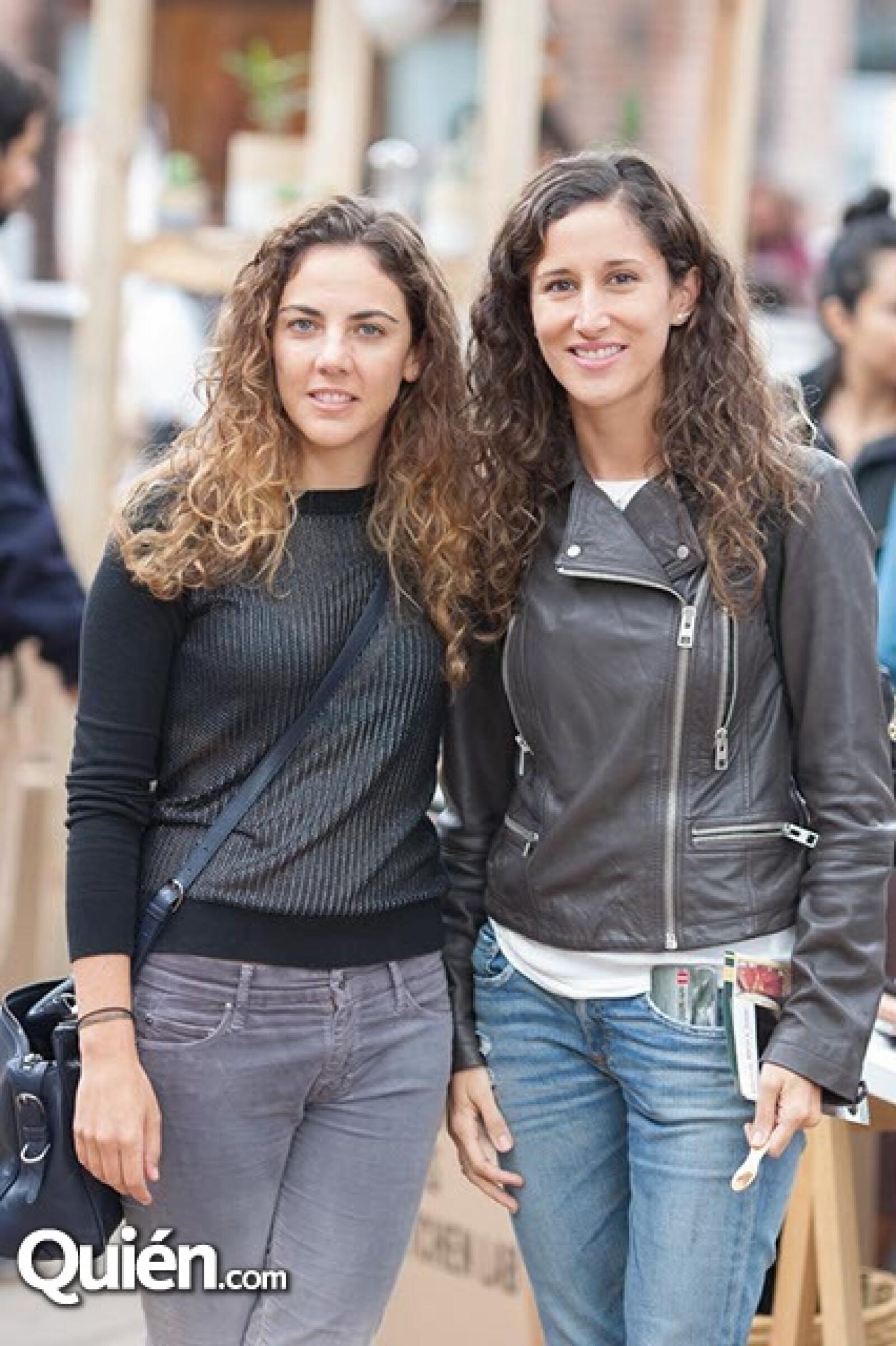 Regina de la Mora y Natalia Aguirre
