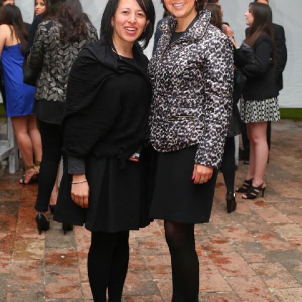 Blanca Ramírez y María Ximena Legorreta.