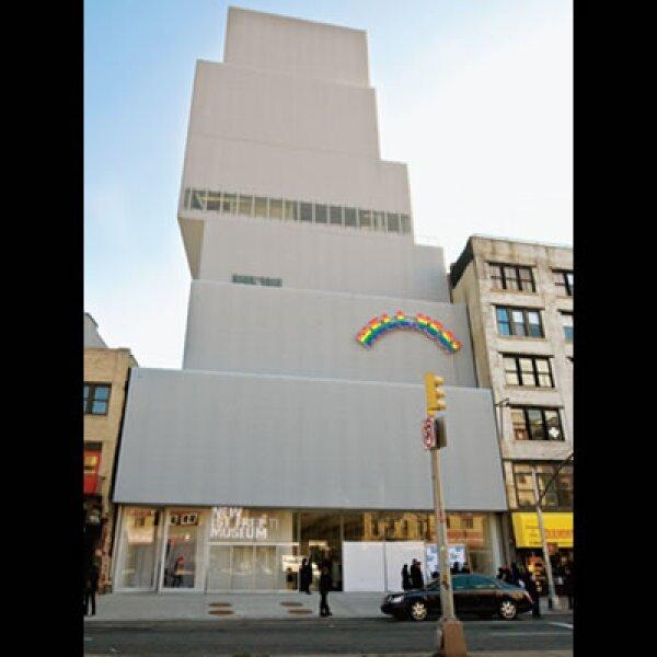 Desde su diseño en 2002, el edificio del New Museum buscaba satisfacer las necesidades de espacios de exhibición sin sacrificar las vistas del exterior.