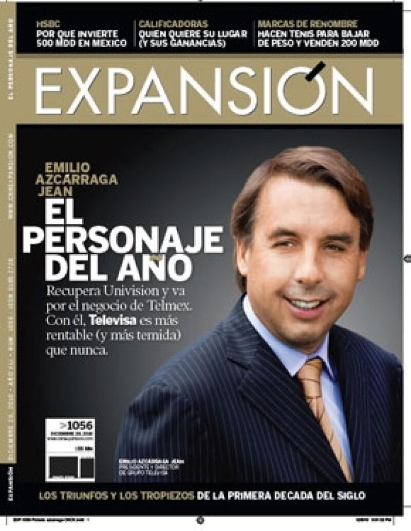 El heredero de la dinastía Azcárraga ha logrado que su empresa sea más poderosa: recuperó Univisión y pelea el mercado de las telecomunicaciones a las empresas del también empresario Carlos Slim.