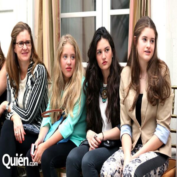 Susana Ortega,Paulina D´Acosta,Amaya Gorbea,Anna Ortega