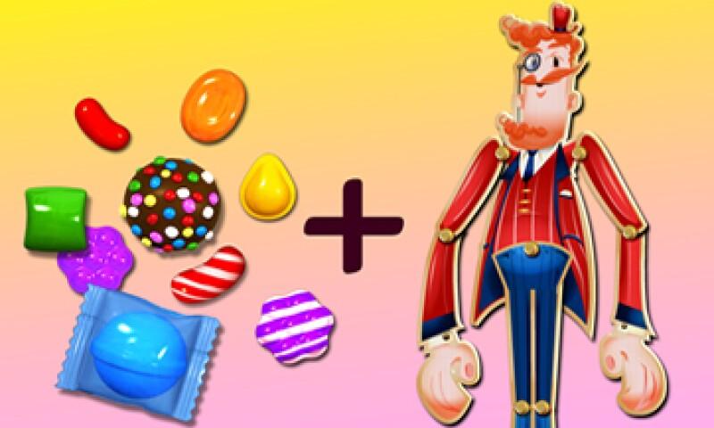 El juego Candy Crush fue la aplicación gratuita con más descargas en 2013. (Foto tomada de facebook.com/CandyCrushSaga)