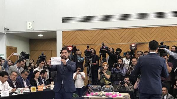 El INE define el orden de participación de candidatos en el debate presidencial