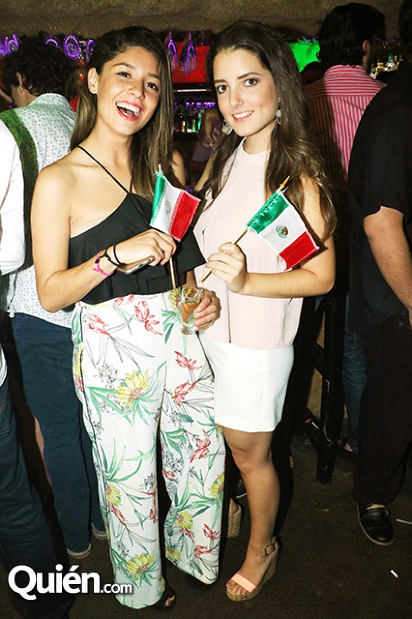 Carla González y Sandra Suárez