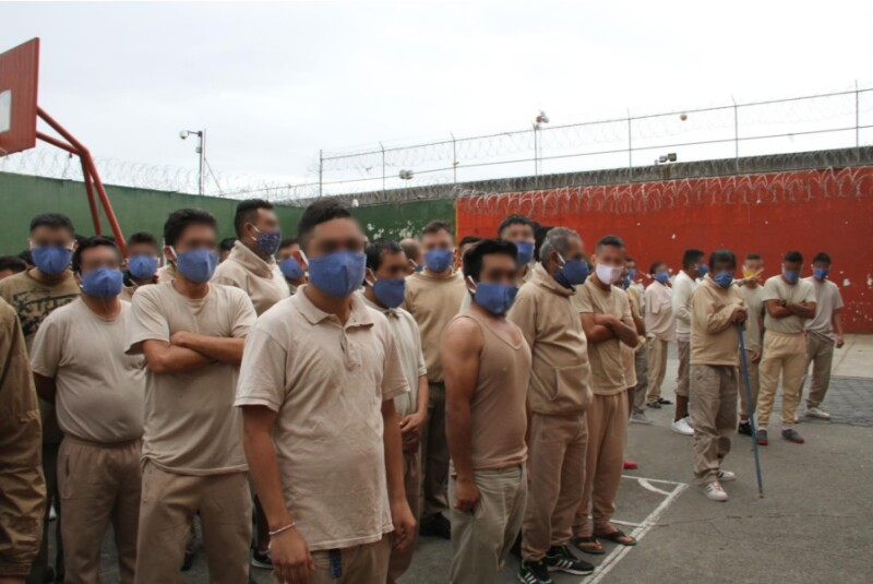 covid centros penitenciarios