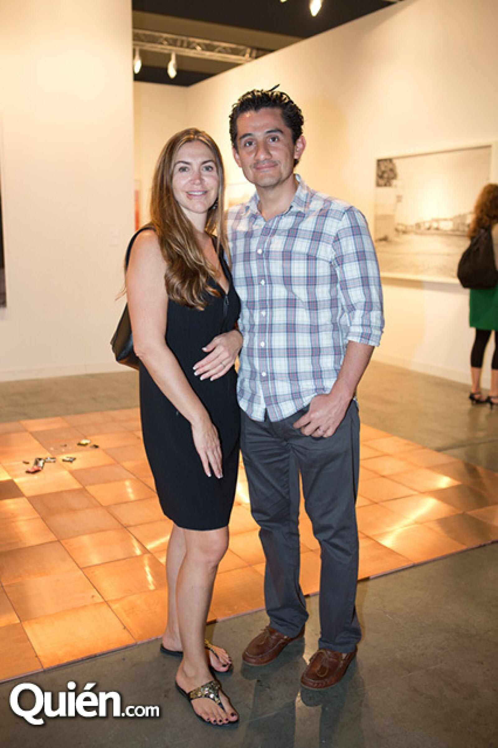 Marcela y Alejandro Santoyo