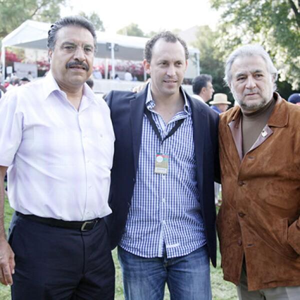 Juan Garduño, Horacio de la Vega y Miguel Torruco