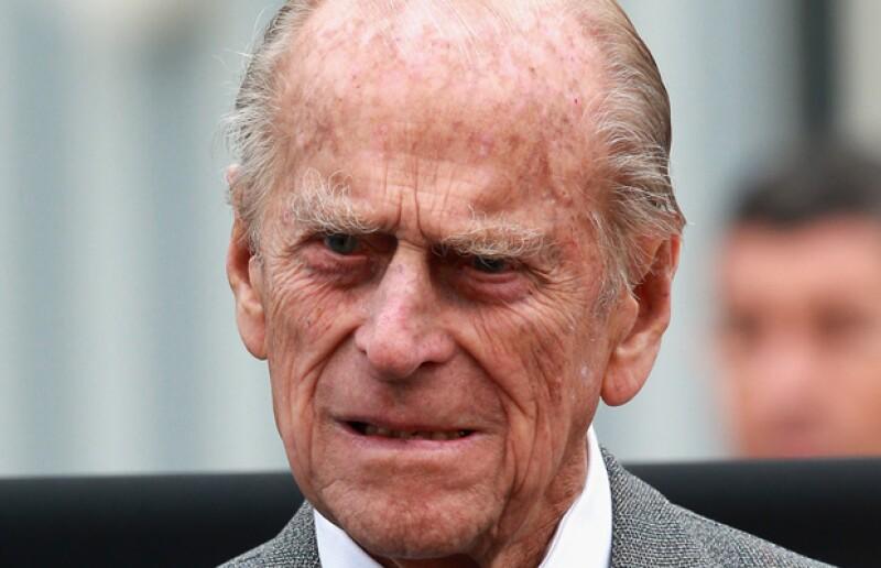 Príncipe Felipe de Inglaterra.