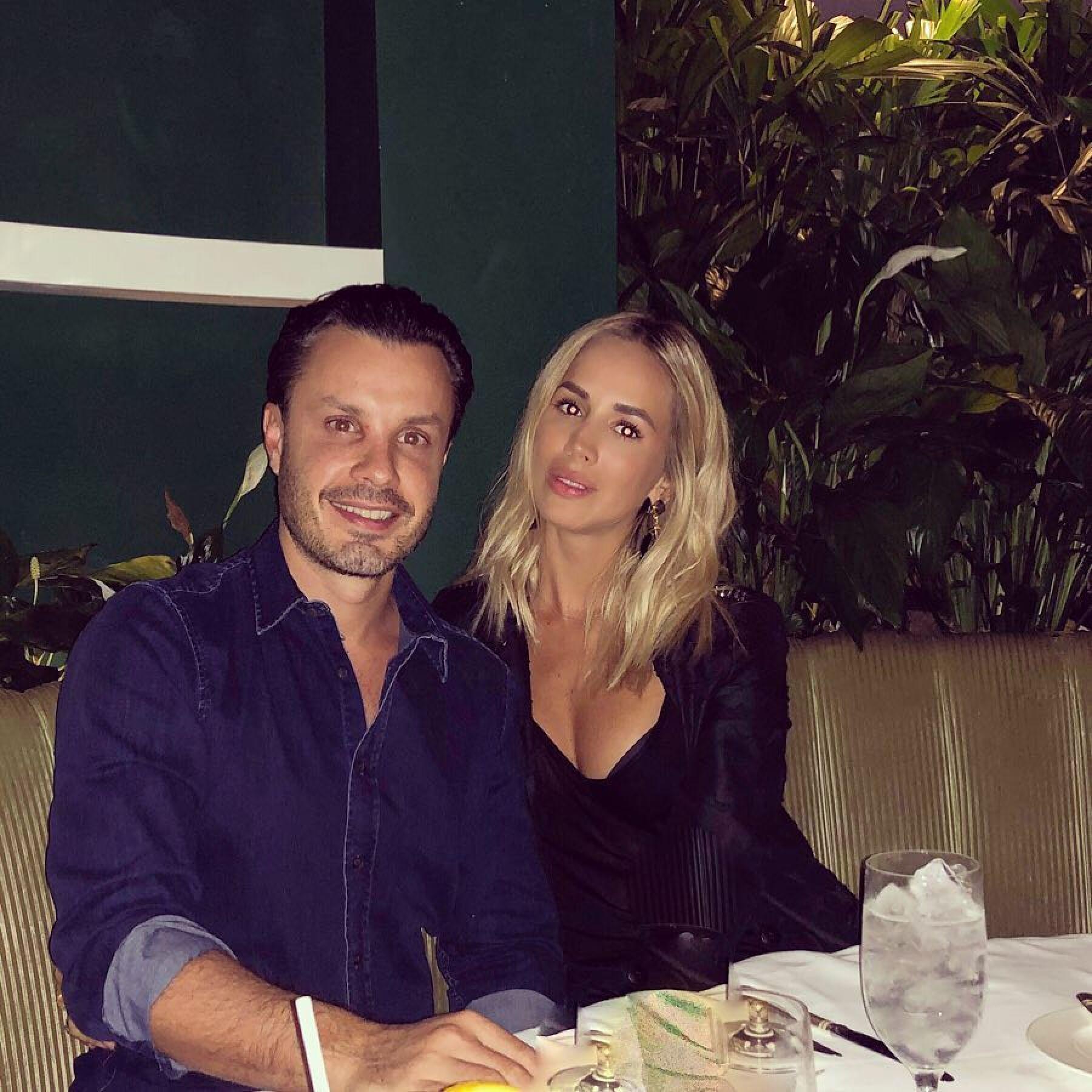 Javier Díaz y su esposa Carla Zepeda