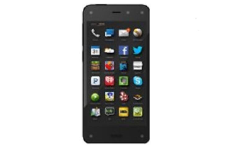 El Fire Phone cuenta con una pantalla 3D y con almacenamiento ilimitado de fotos en la nube. (Foto: Tomada de amazon.com)