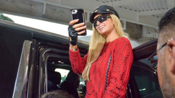 Paris Hilton Arrives To Mexico