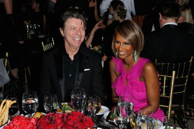 Iman y Bowie duraron más de 20 años de casados.