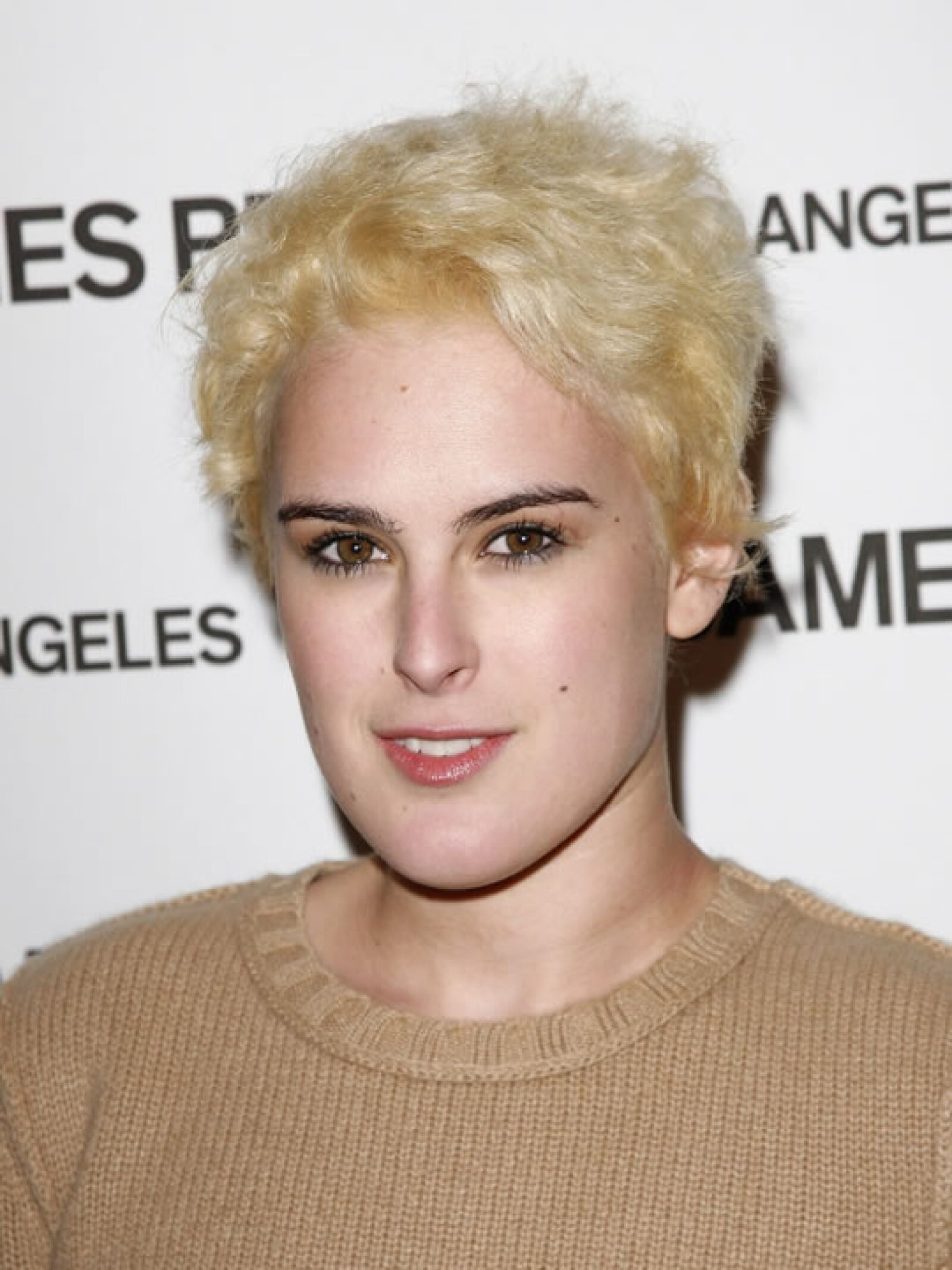 Rumer Willis- Lamentablemente la actriz no posee la misma belleza de su madre, quién en alguna ocasión quedó casi pelona y no se acercaba ni tantito a este desastroso look.