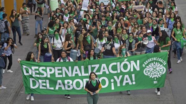 Marcha pro aborto