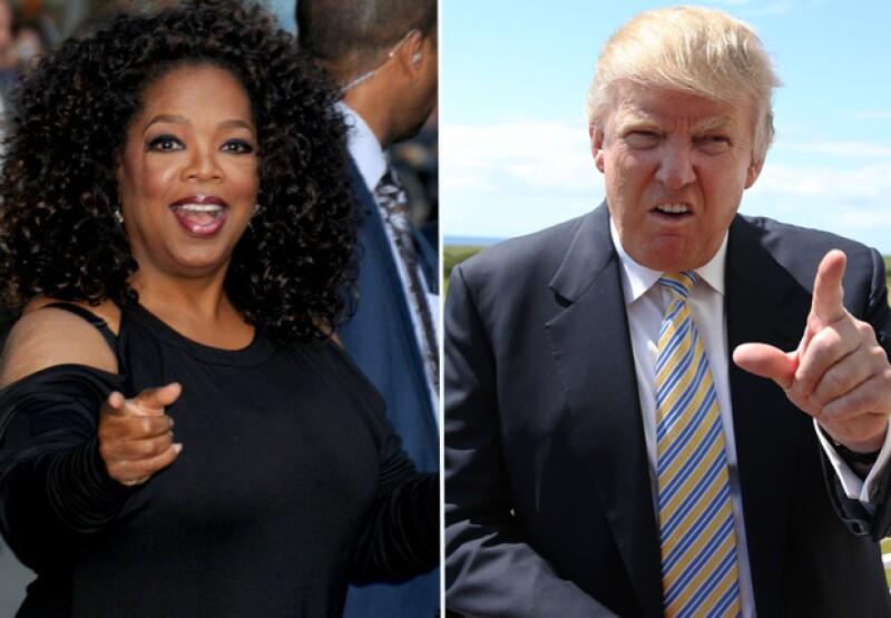 El multimillonario declaró en entrevista que le gustaría tener a Oprah Winfrey como compañera de fórmula en busca de la presidencia y vicepresidencia de Estados Unidos.