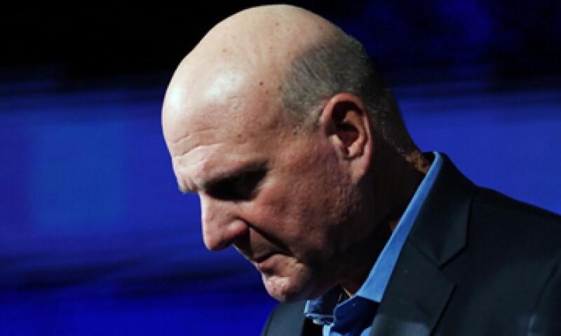 Steve Ballmer expresó que la transformación de su empresa aún está en los cimientos. (Foto: Getty Images)