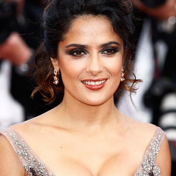 Este fue su look en el Festival de Cine de Cannes, al cual asistió con su esposo, el magnate François-Henri Pinault.