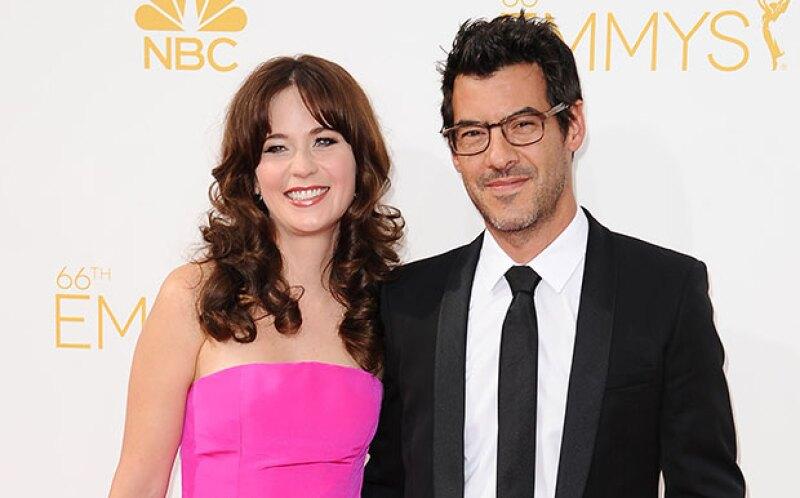 La actriz y su esposo Jacob Pechenik se han convertido en padres de una pequeña bebé de la que aún no revelan su nombre.