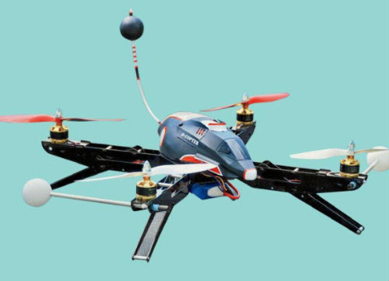 foto-arte de dron