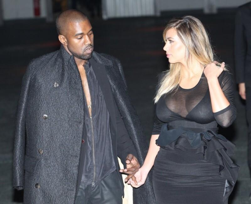 Ahora que la estrella de televisión está diseñando una línea de ropa para bebé, el rapero tiene miedo que sus creaciones repercutan en su imagen.