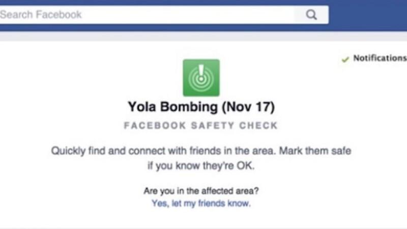 La opción de 'Safety Check' que activó la red social tras los atentados en Nigeria. (Foto: Tomada de Facebook )