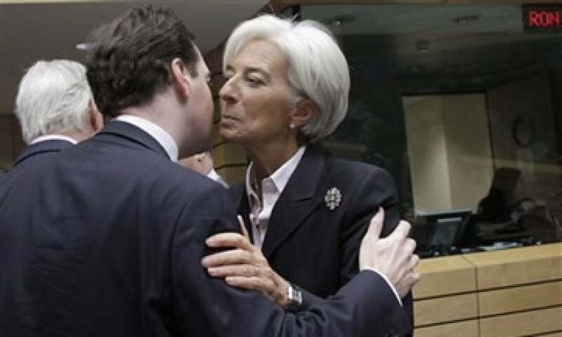 El G20 llegó a un amplio acuerdo en su cumbre de la semana pasada para elevar las finanzas del FMI, que dirige Christine Lagarde. (Foto: AP)