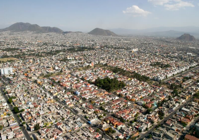 mancha urbana vivienda