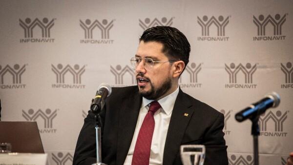 Carlos Martínez, director general del Infonavit
