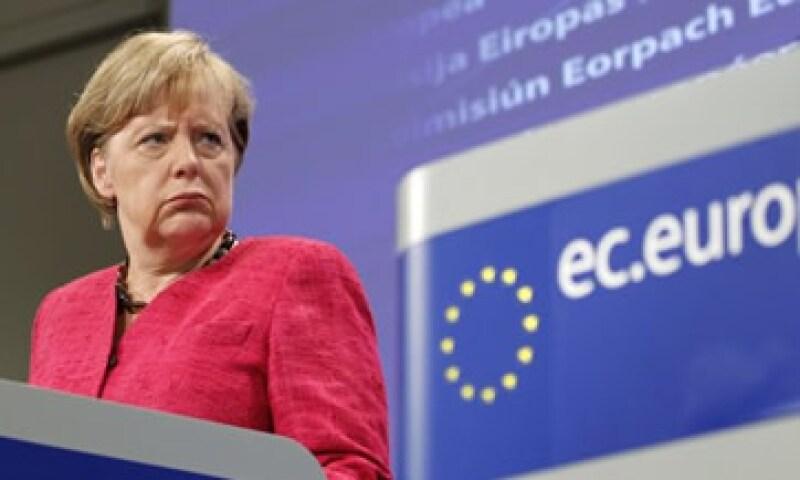 """Merkel también dijo que Grecia debe tener """"una oportunidad de volver a ponerse de pie"""". (Foto: Reuters)"""