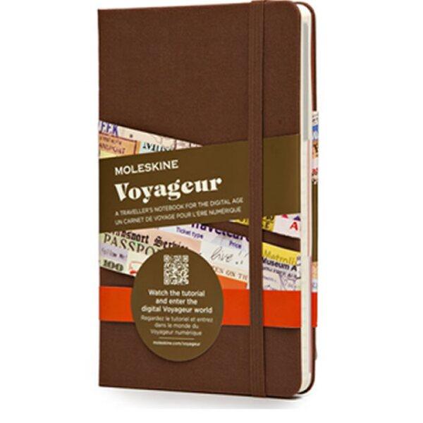 Moleskine Voyageur. $550 pesos. moleskinemx.com