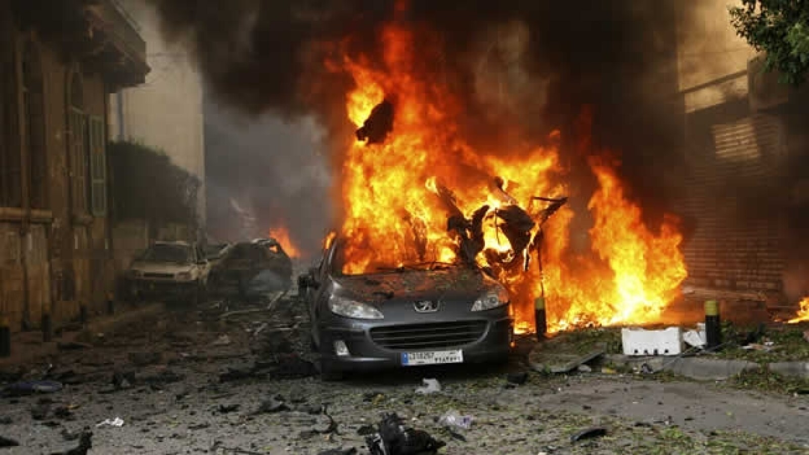 Coche bomba Beirut