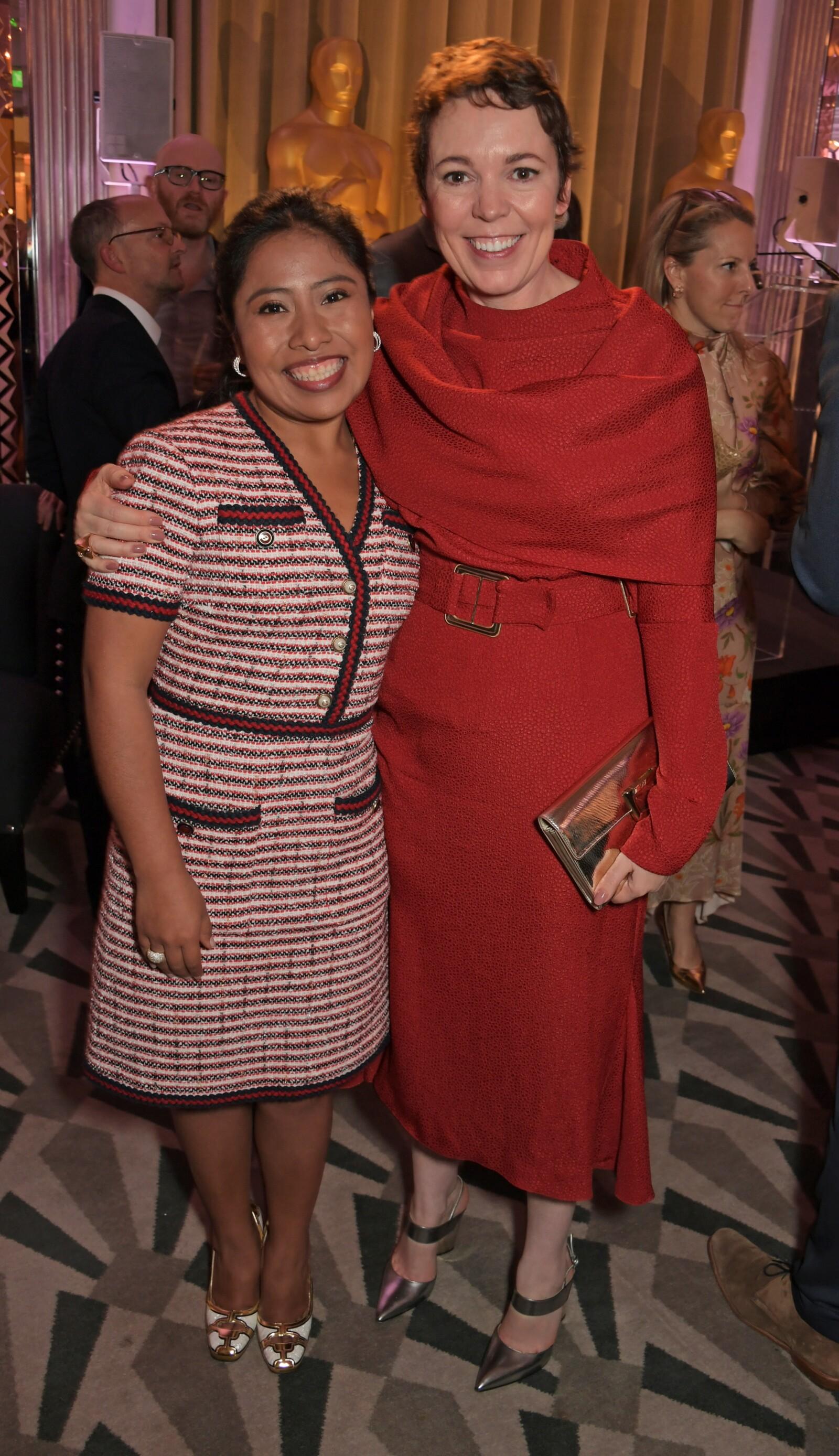 Yalitza Aparicio y Olivia Colman
