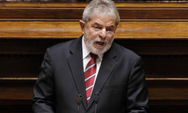 Lula da Silva pidió a México buscar acuerdos con los países del sur para impulsar nuevos mercados. (Archivo)
