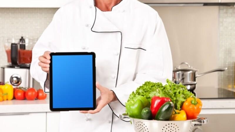 tecnología para cocineros