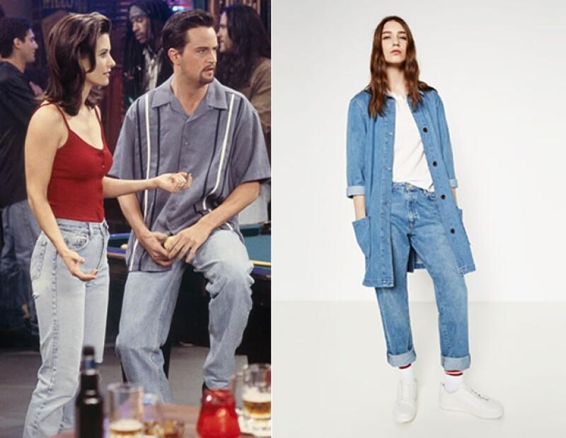 Zara recrea este icónico estilo.