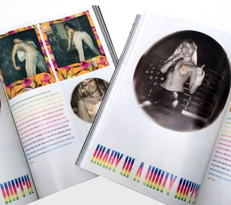 La cantante agradeció a la publicación y al fotógrafo por las fotos.