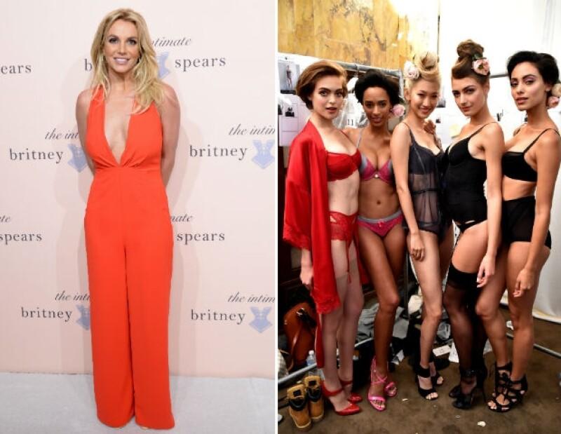 Britney Spears comenzará con Estados Unidos para distribuir sus diseños.
