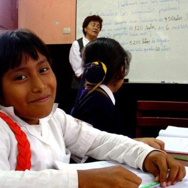 Yuly se ha hecho muy famosa en su escuela.