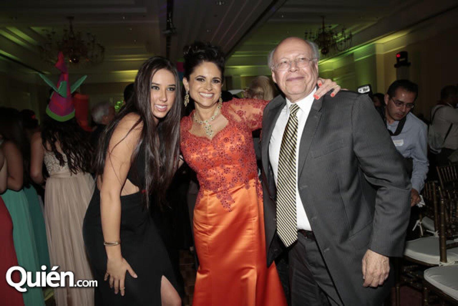Elena Bosque,Perla Díaz de Ealy,José Narro (Rector de la UNAM)