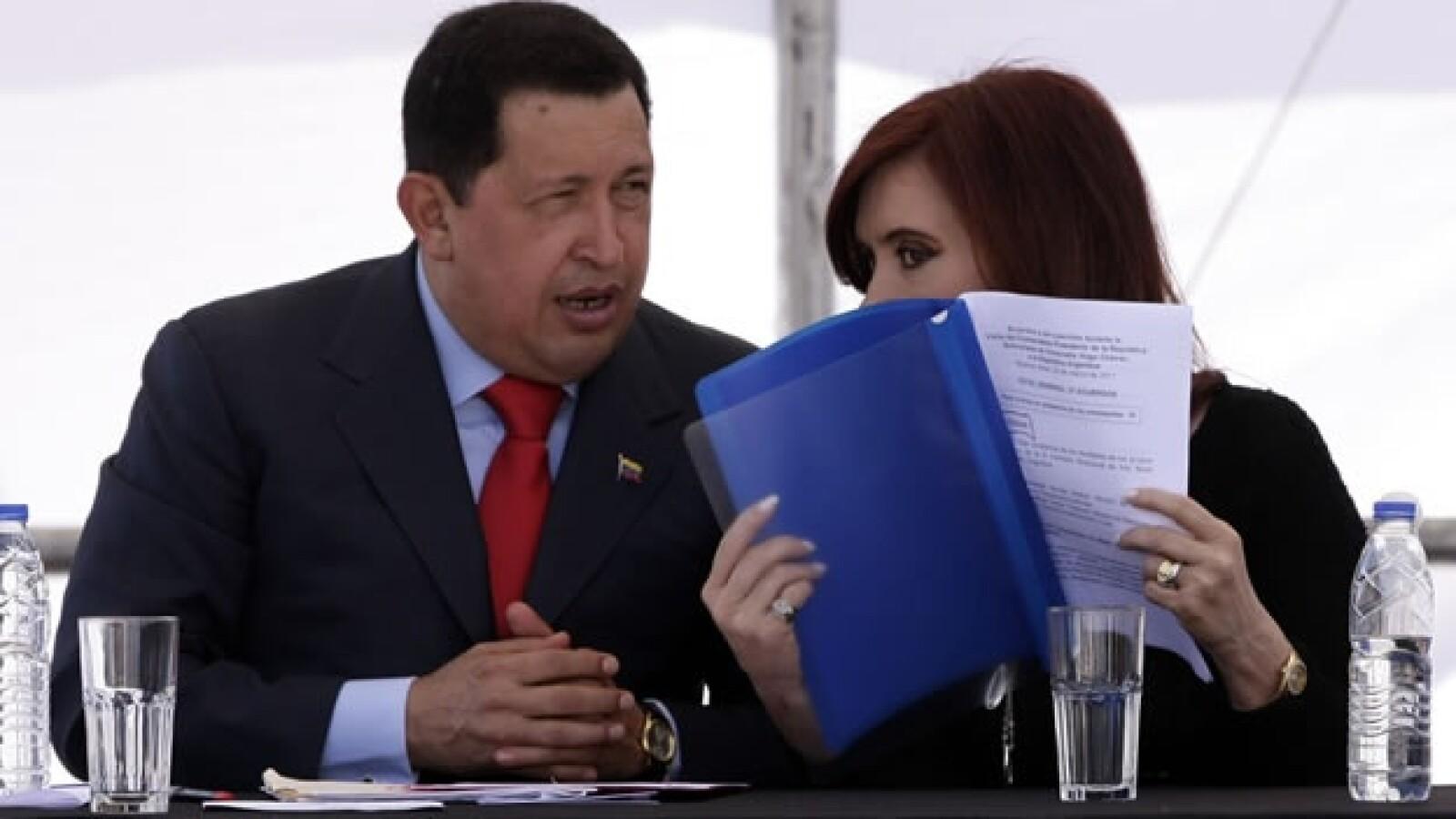 Chávez - Cristina Fernández