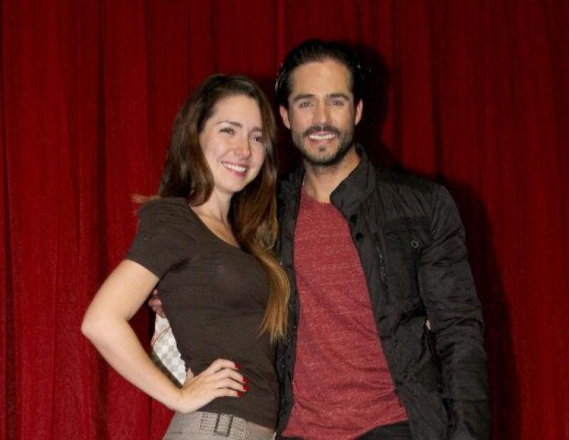 José Ron habla de la reciente maternidad de su ex Ariadne Díaz
