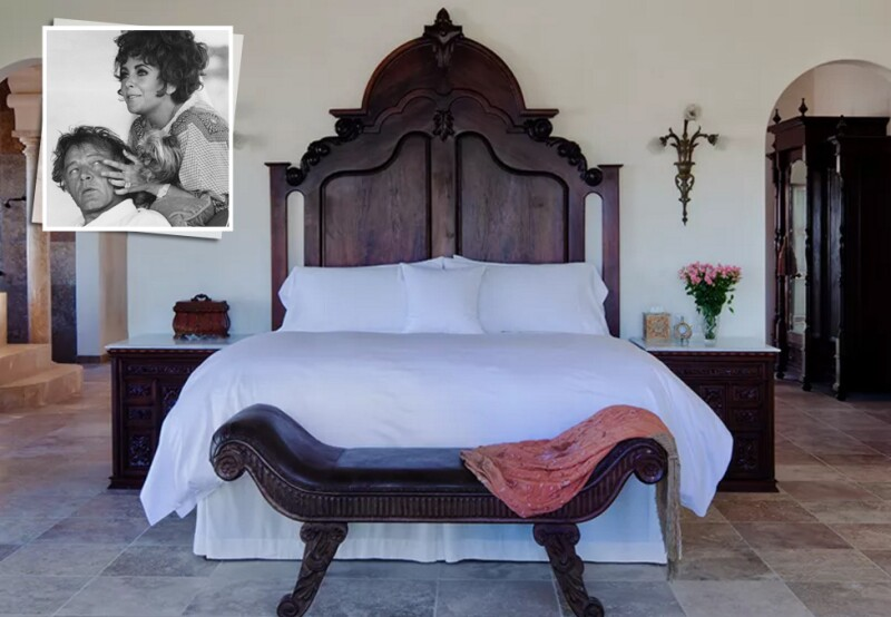 La cama de Elizabeth.